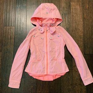 LULULEMON Pink Rain Jacket